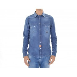 Camicia Uomo Roy Roger's jeans Joshua Chambry Over