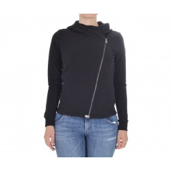 SWEATSHIRT WOMAN COLMAR WITH HOOD AND ZIP 9006W