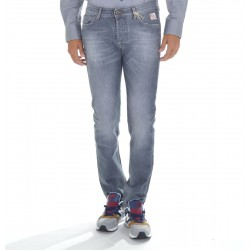 Roy Roger's - Jeans Uomo 529 Denim Grey