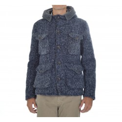 Parka Wool Salt & Pepper Uomo Roy roger's
