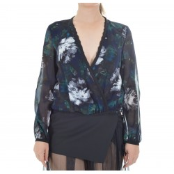 Patrizia Pepe - Shirt / Top in silk satin woman 2C1098 A4P1