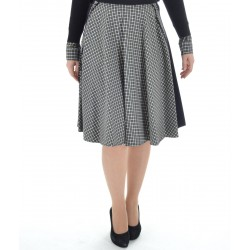 Patrizia Pepe - Viscose Tweed skirt for woman 8G0125 A4D5