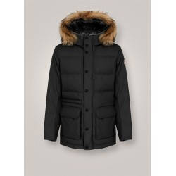 Colmar- Man down jacket with harness and fur 1200F 1RT Riddle