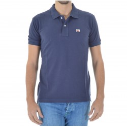 Roy Roger's Men's Polo Shirt in Piquet Giza