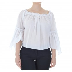 Patrizia Pepe - Woman cotton muslin top 2J2231 A4Y9