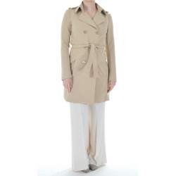 Patrizia Pepe - Double breasted women's trench coat 8S0188 A2AW