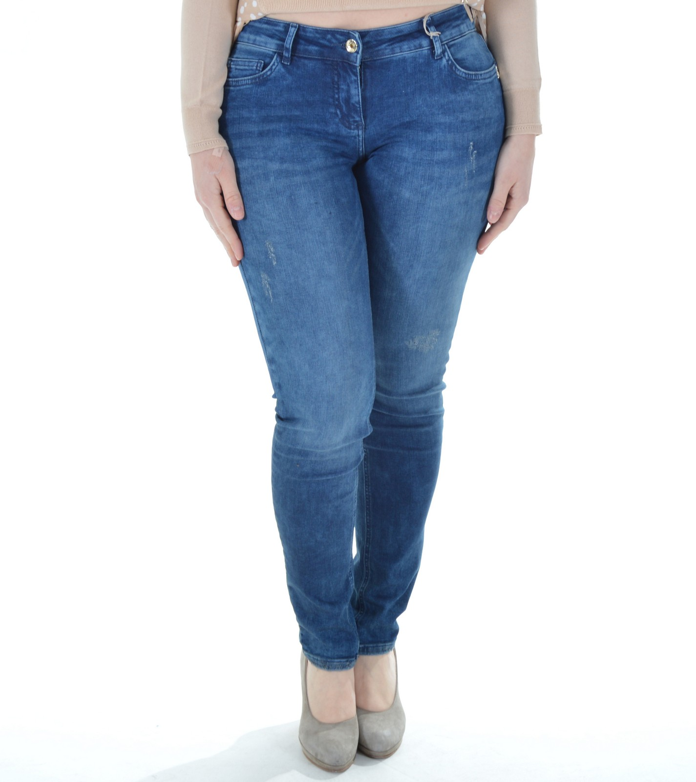 big sale d64b7 e972f Patrizia Pepe - Jeans donna in denim strech push-up BJ0210 A1WZA