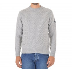 Men's Sweater Roy Roger's Crew Neck P. Noce MAN Wool & Cashmere