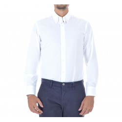Shirt Men's Masaniello White Twill