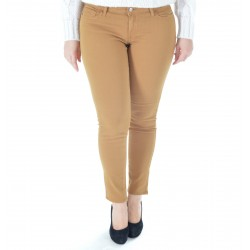 PANTALONE DONNA ROY ROGER'S CUT CATE WOMAN MUSTARD READ