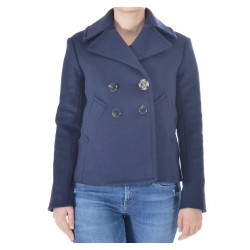 Roy Roger's - PEACOAT NITA DONNA WOOLEN CLOTH