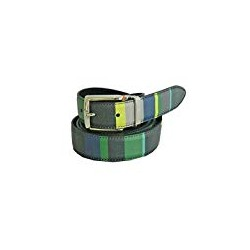 MAN BELT REVERSIBLE LEATHER STRIPED MULTICOLOUR Gallo AP505013