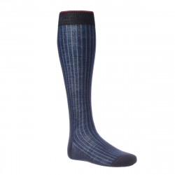 Gallo knee sock man in fancy tailoring T1498