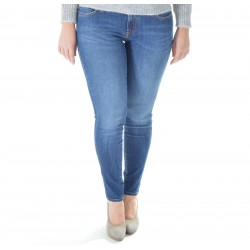 WOMAN JEANS ROY ROGER'S CATE CUT SUPER STRETCH CASTRIES