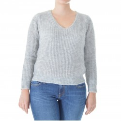 Kangra - Women's V-neck sweater 1742 02