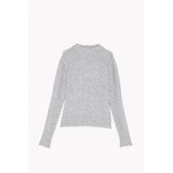 Patrizia Pepe - Women's sweater with chain 2M4016 A8H3