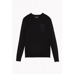 Patrizia Pepe - Men's wool crewneck sweater 5M1282 A8G4