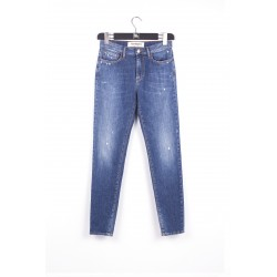 Jeans Donna Roy Roger's cate high super strech cannella P-E 2021